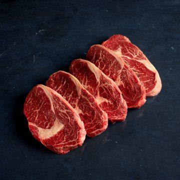 Beef Rib Eye Steaks