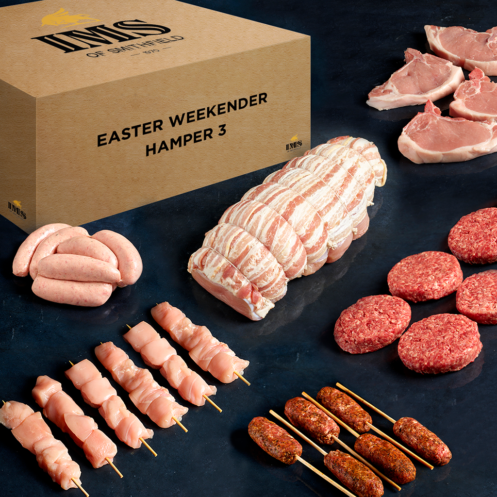Celebrate Easter in style with these luxury meat hampers